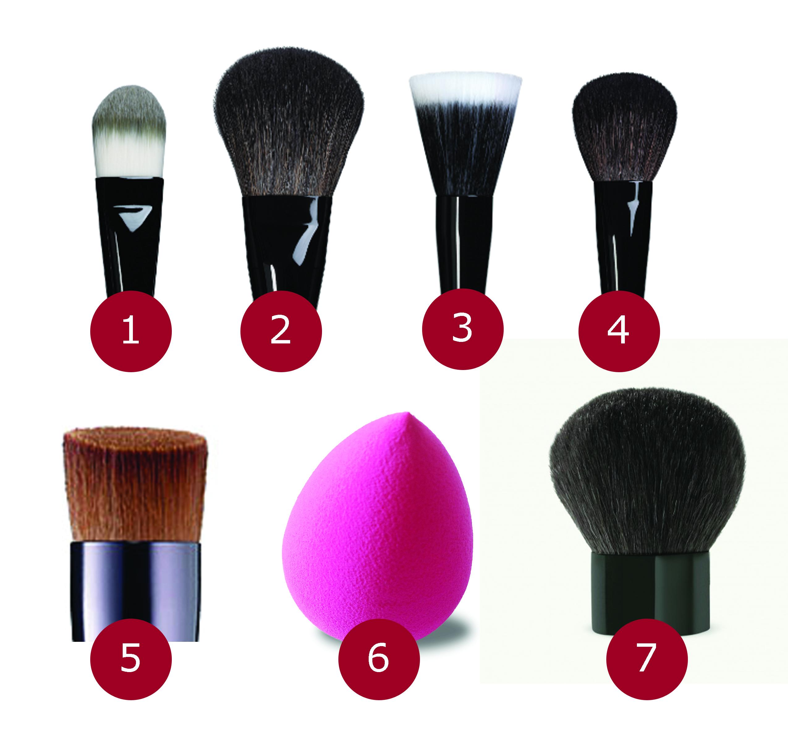 Brochas y pinceles de maquillaje mi blog de tendencias - Como barnizar con brocha ...